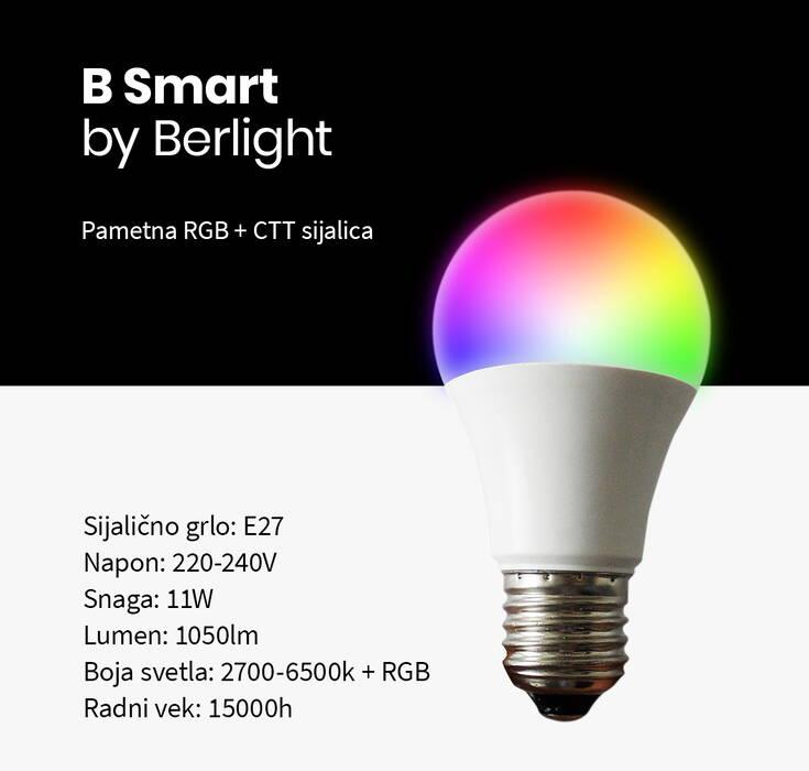 Smart LED RGB bulb